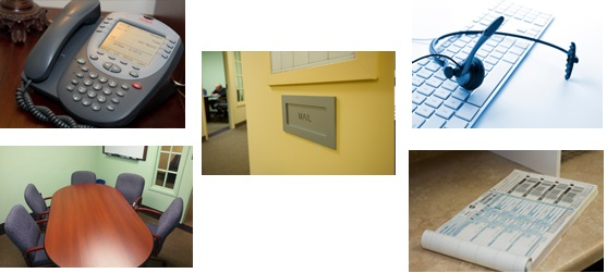 Virtual Office Collage - Tablet